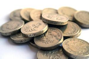 pounds libras monedas coins