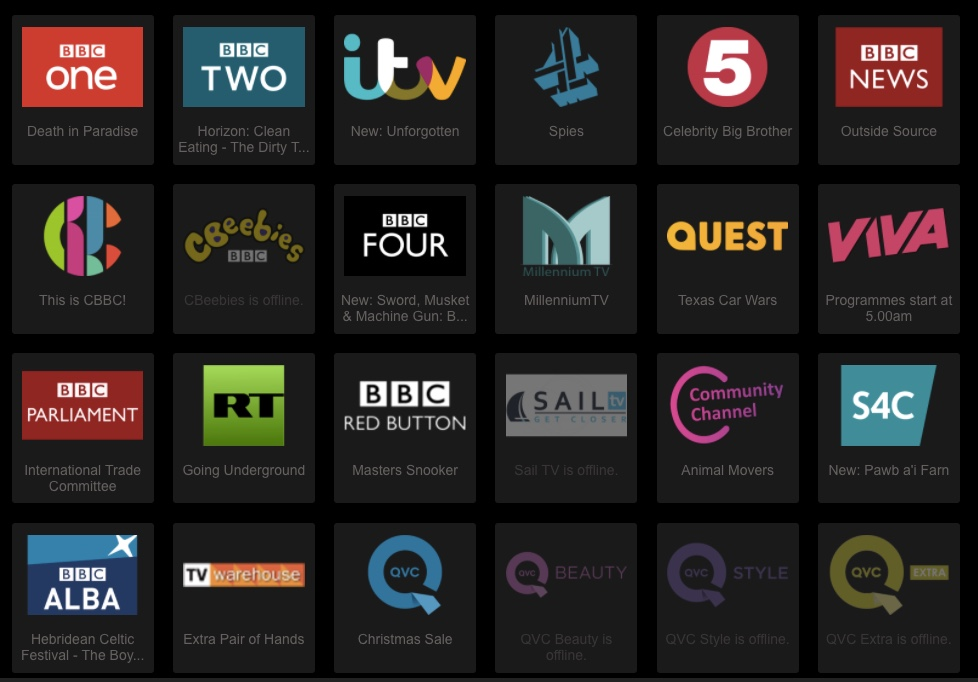 tvcatchup bbc