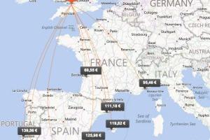 vuelos airports aeropuertos españa reino unido bristol