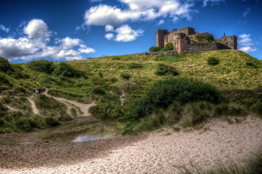 Bamburgh Castle by Darren Harmon