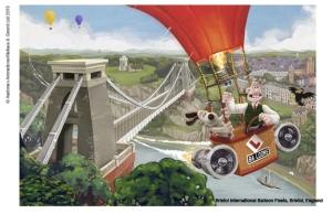 groomit bristol balloon suspension bridge