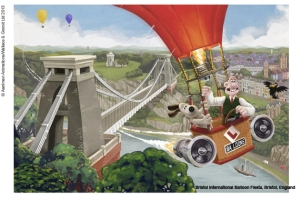 groomit bristol balloon suspension bridge