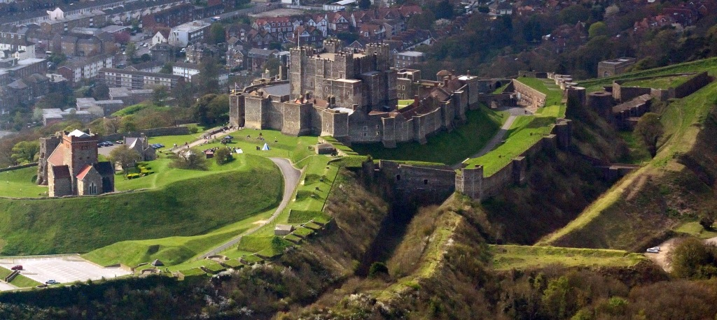 Dover_Castle_aerial_view