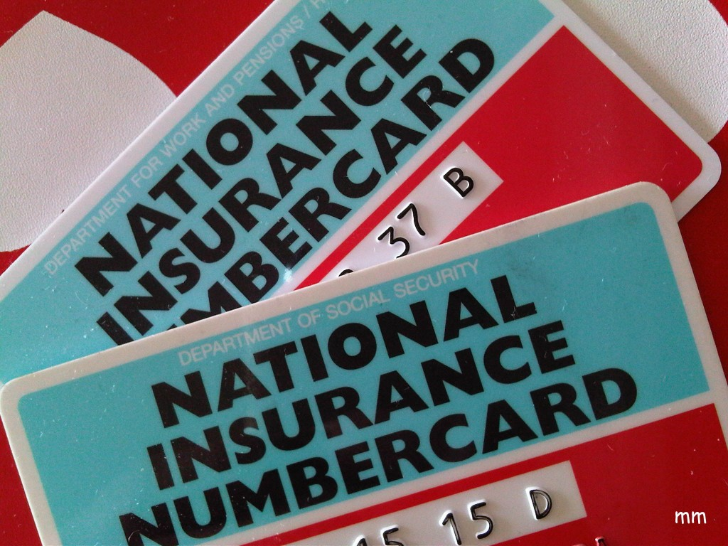 Nin National Insurance Number La Segsoc De Uk