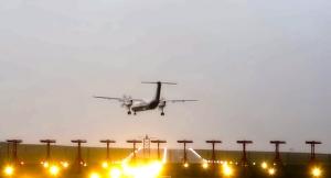 aterrizajes forzosos en el Aeropuerto de Bristol