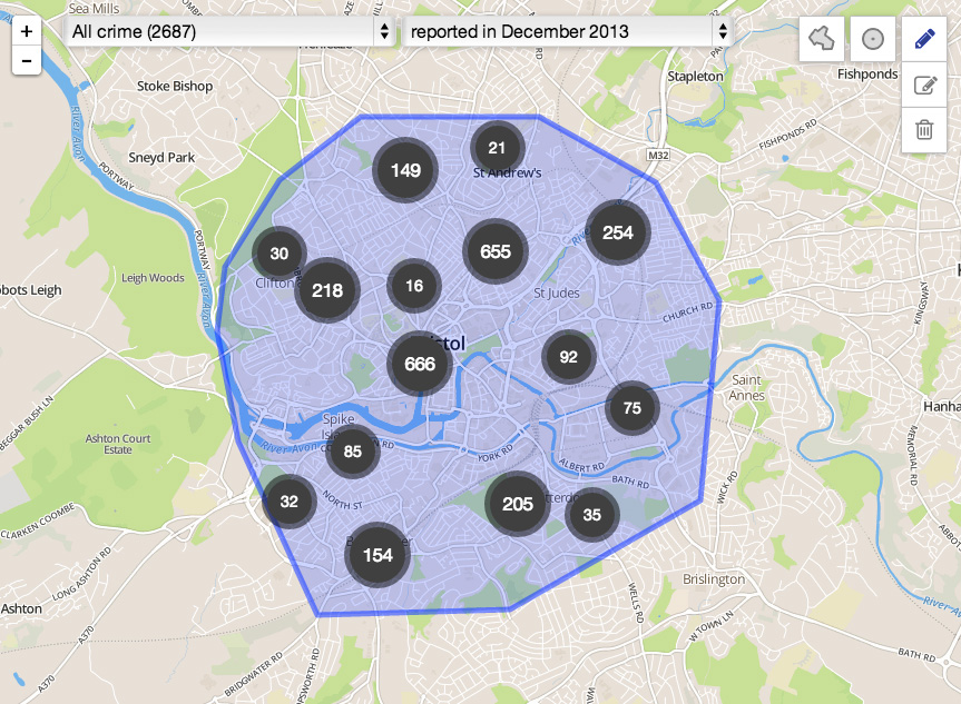 Dec 2013 - CrimeMap by www.police.uk