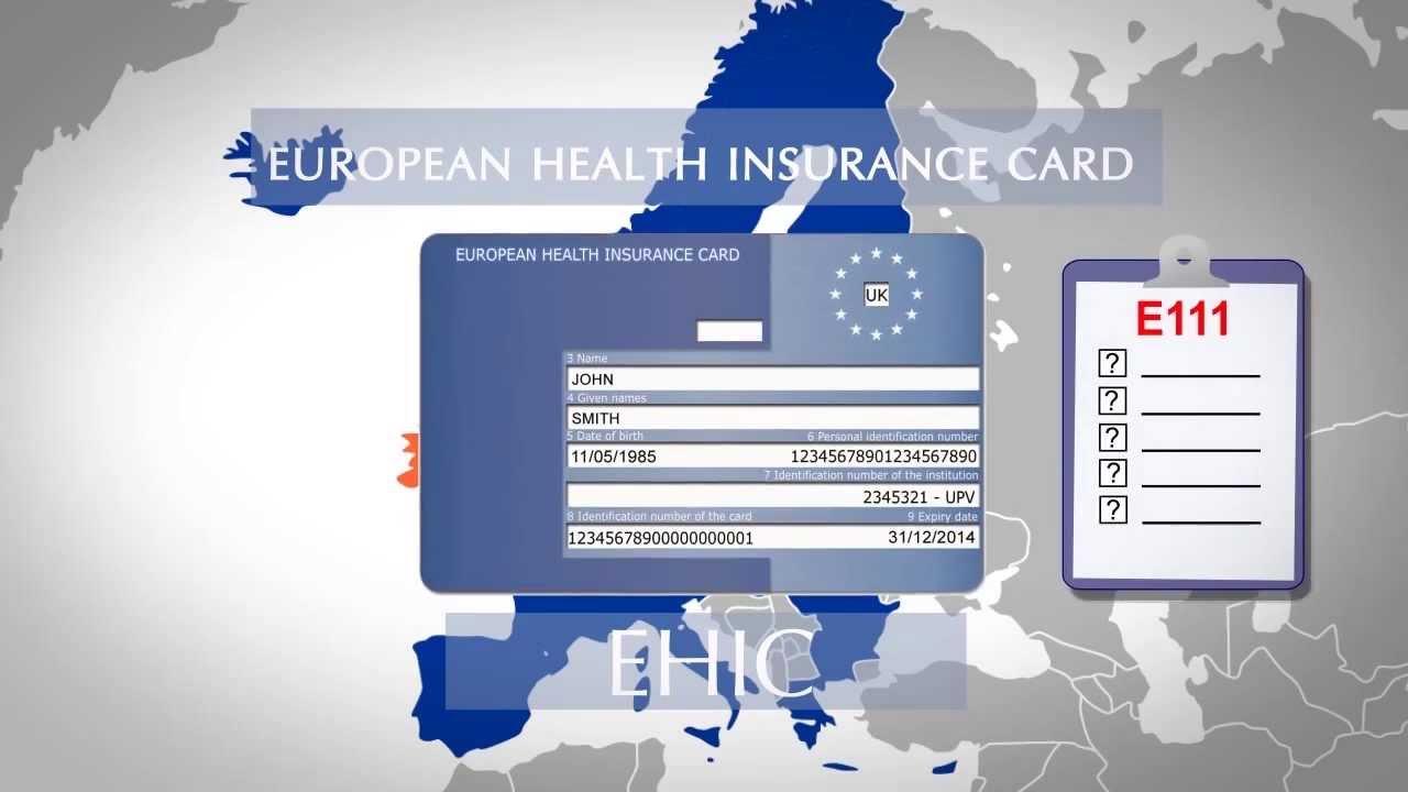Formulario para solicitud tarjeta sanitaria europea