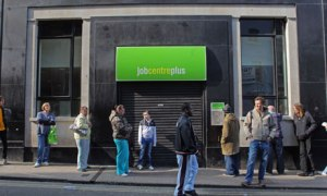 Bristol jobcentreplus unemployment