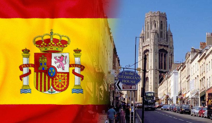 españoles en bristol