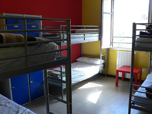 Hostales y albergues en bristol bristole for Room decor ideas in hostel