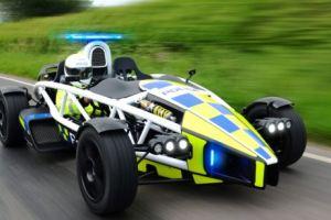 bristol police ariel atom fastest car police