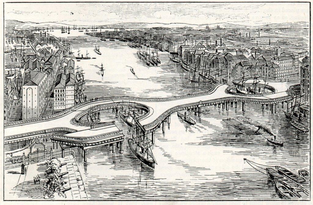 tower bridge old design