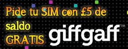 Consigue tu SIM de UK y llévate 5 libras de saldo GRATIS