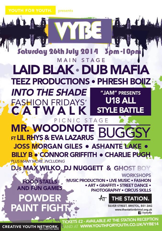 VYBE Festival 2014 Bristol