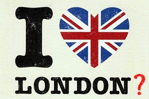 I love London ?
