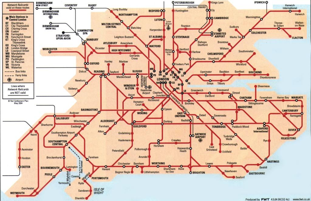 Railcard Londres abono tren uk
