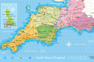 Mapa zona SouthWest