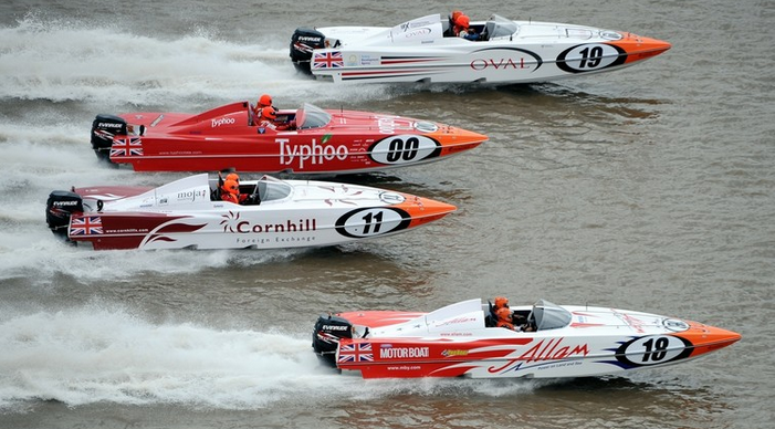 powerboat P1 Welsh Grand Prix of the Sea