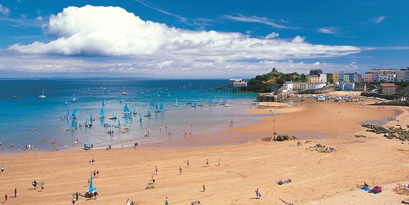 South Beach, Tenby, Pembrokeshire