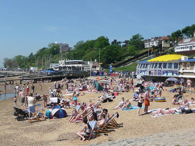 Three Shells Beach, Southend-on-Sea, Essex