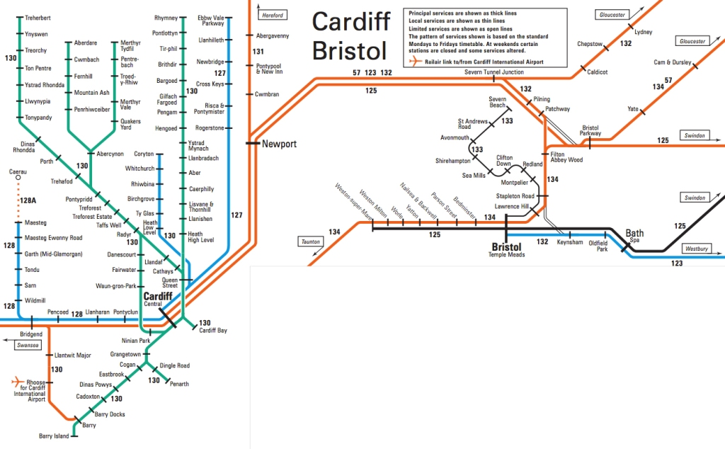 train map bristol-cardiff