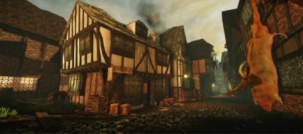 Recreación en 3D de Londres antes del gran incendio en siglo 17