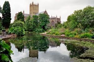 Catedral Wells by Bernard Blanc