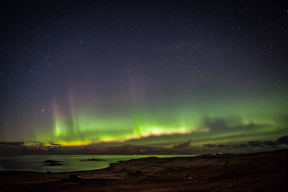 Aurora Boreal Escocia