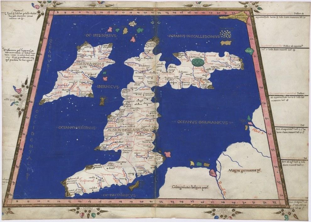 mapa 1467 uk