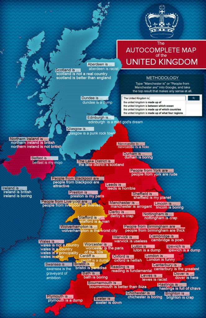 mapa autocompletar google uk