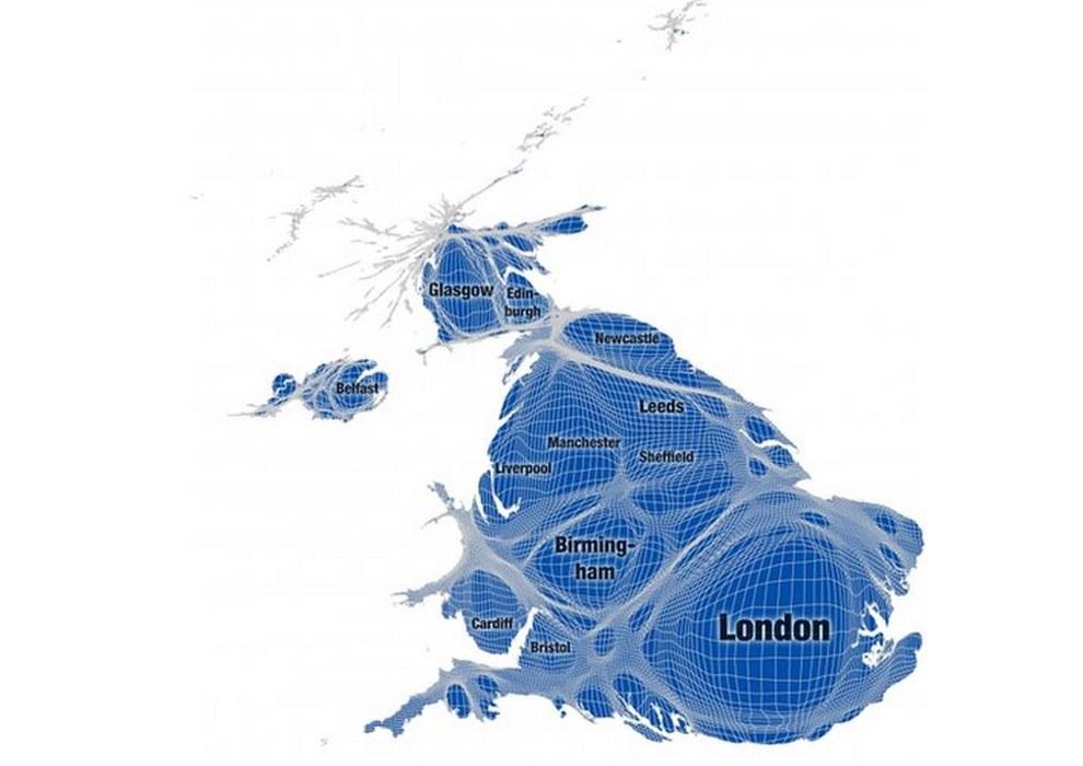 uk distorsionado por población