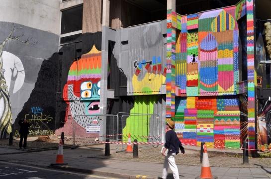 graffitti arte urbano en bristol uk street art