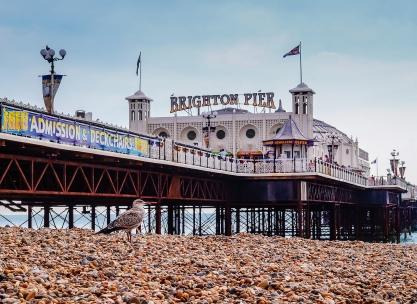 Brighton Pier by Beverley Goodwin