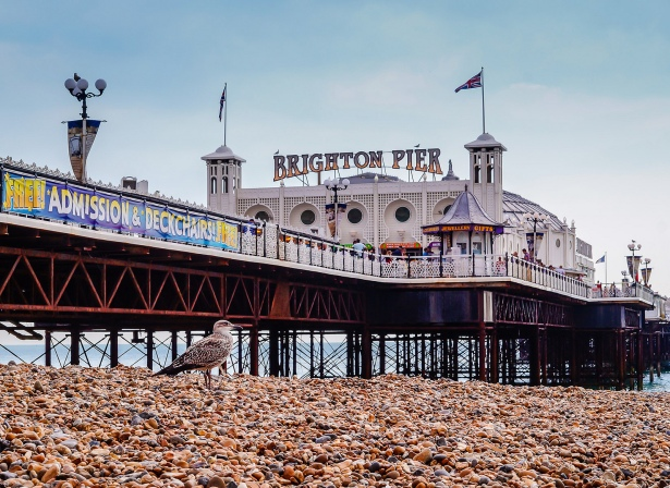 Brighton Pier by Beverley Goodwin