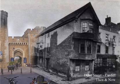 High Corner House en 1870s