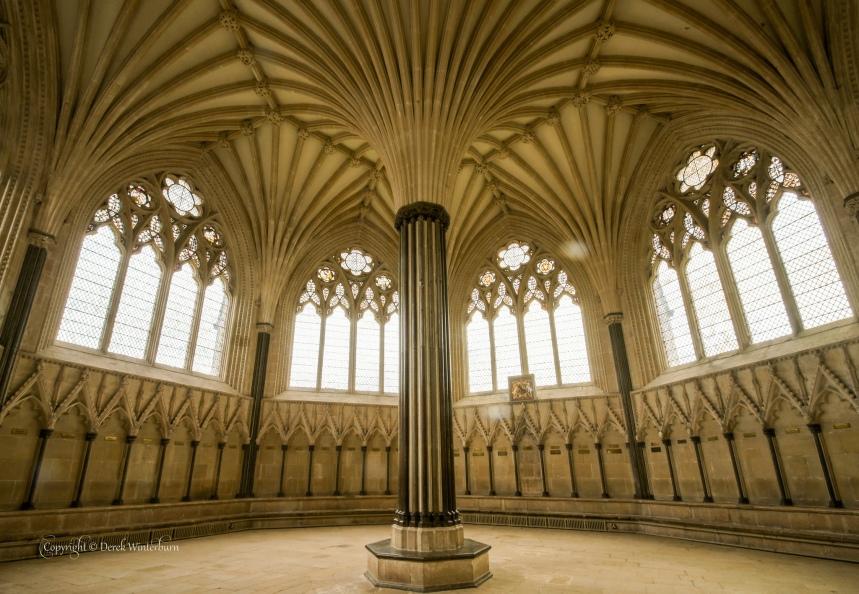 Catedral Wells by Derek Winterburn