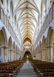 Catedral Wells by Matthew Hartley