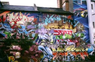 Edward Simpson : Graffiti in Brighton
