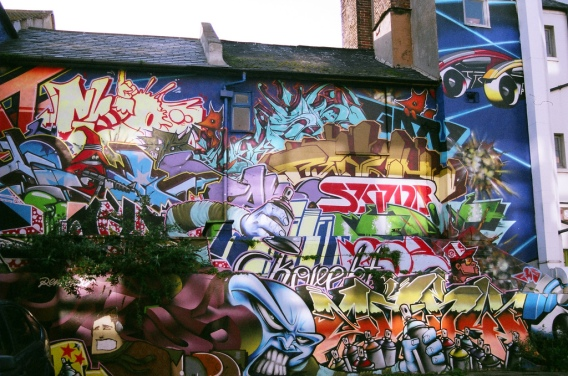 Edward Simpson : Graffiti in Brighton