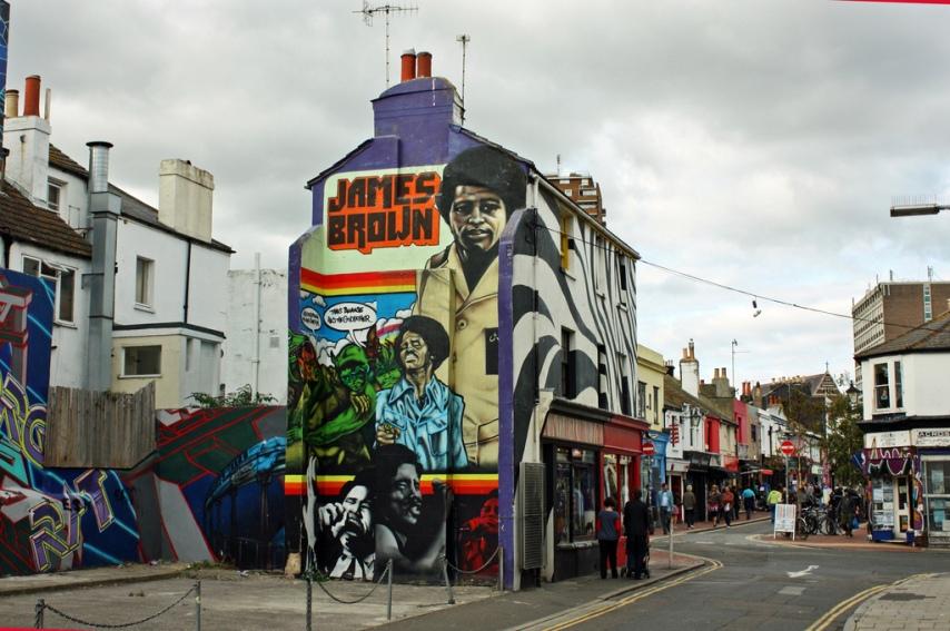 Gareth Williams : Brighton - The Lanes