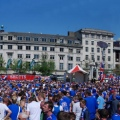 Picadilly Gardens Rangers Panorama by George M. Groutas