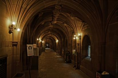 University Library of Manchester by Gidzy John Rylands