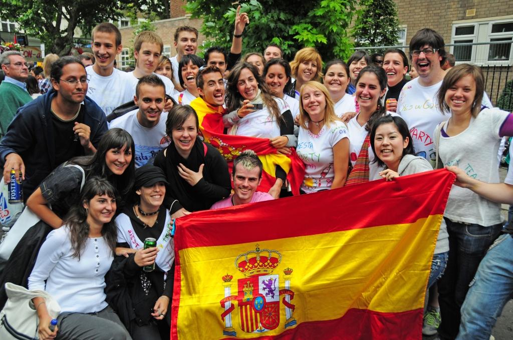 españoles en londres