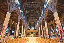 Manchester Cathedral by Michael D Beckwith