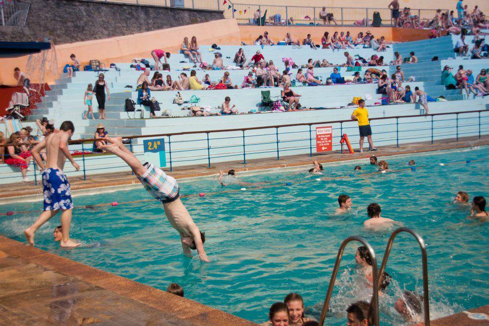 portishead swimming pool