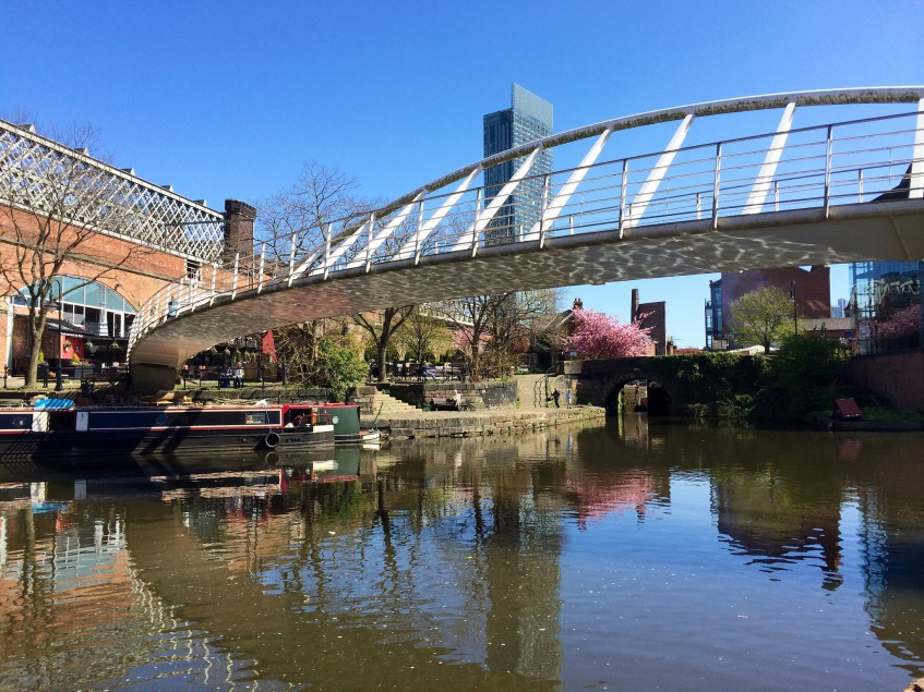 Manchester - Castlefield in Spring by Stacey Cavanagh