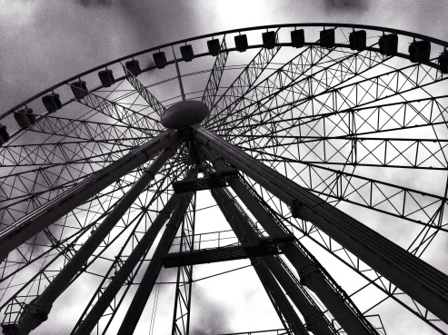 Manchester Piccadilly Gardens Wheel by Stacey Cavanagh