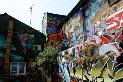Stephen Fulljames : Brighton graffiti