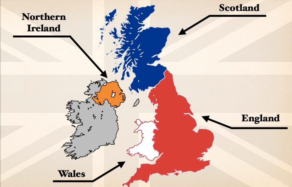 uk map countries