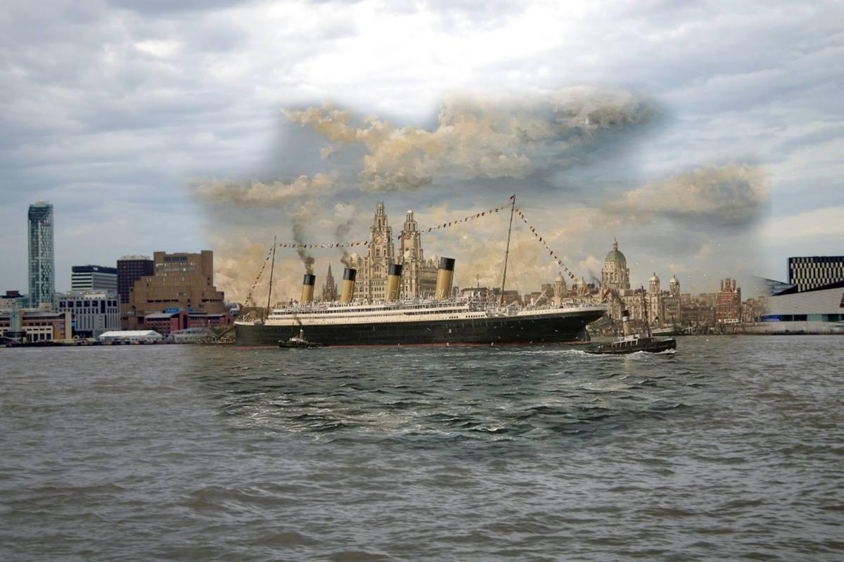 Viaja en el tiempo casi 100 años con imágenes de Liverpool antes y ahora